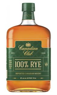 Canadian Club Rye 100% 750ml